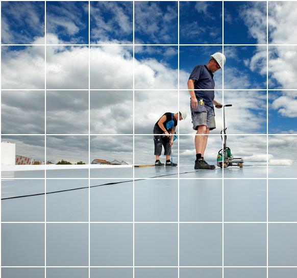 Erki bvba is de specialist in pvc dichtingswerken voor dak for Zwembad kunststof